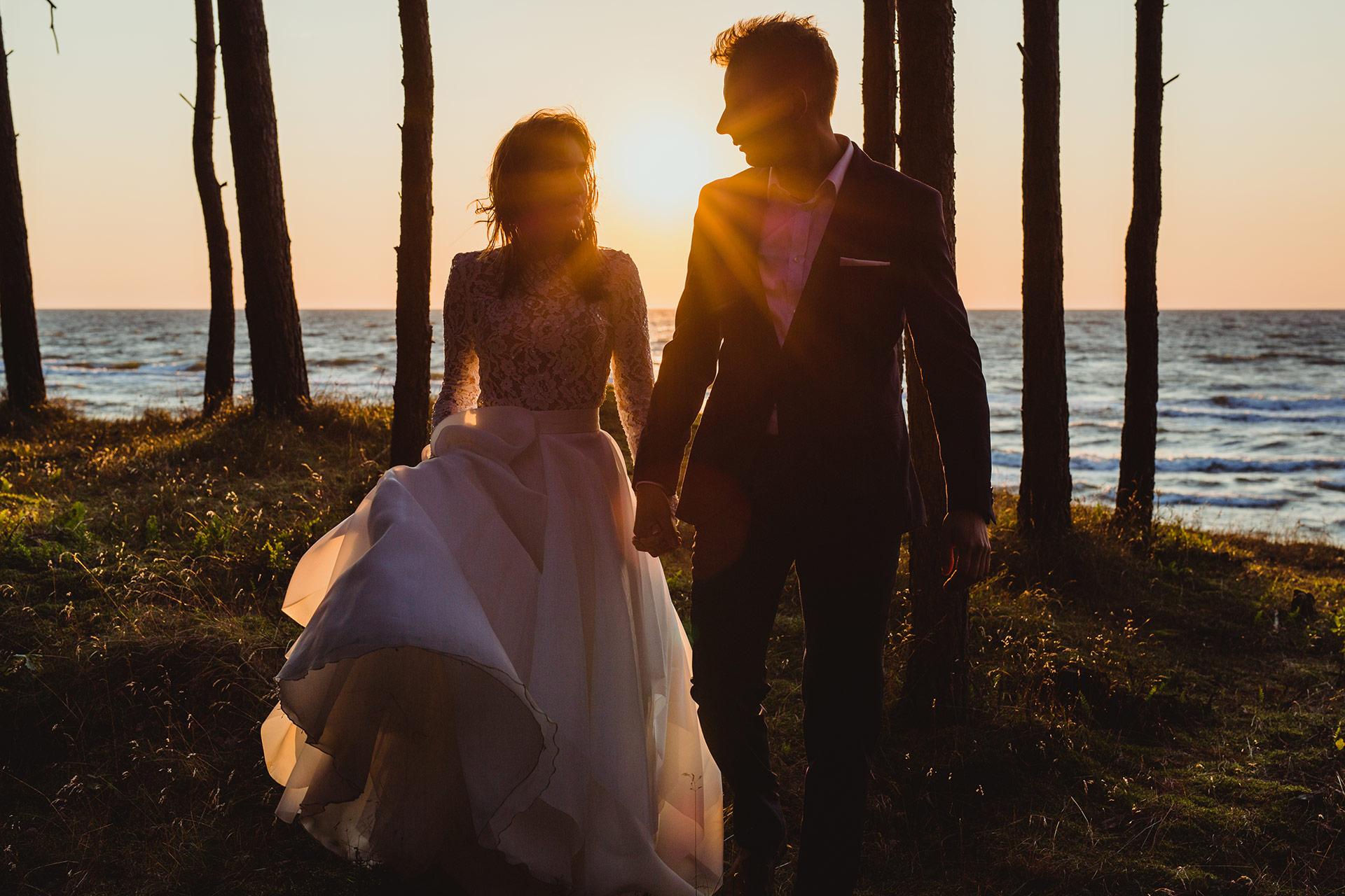 plener ślubny nad morzem fotograf ślubny wrocław głogów
